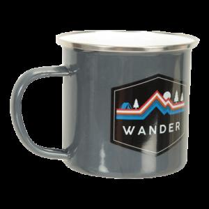 Enamel Mug - Wander