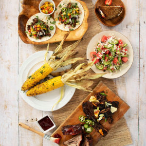 Off the Grid and on the Grill Meal Kit