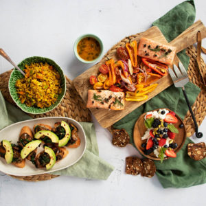 Pool Days (and Graze!) Meal Kit